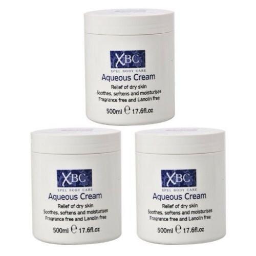 XBC Aqueous Cream 3 x 500ml