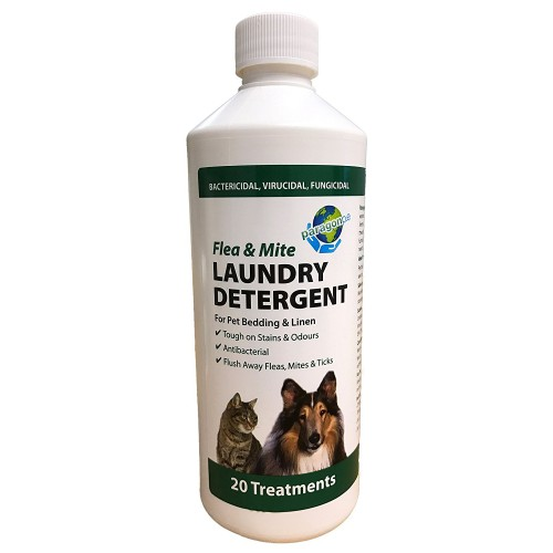500ml Paragon Flea & Mite Laundry Detergent