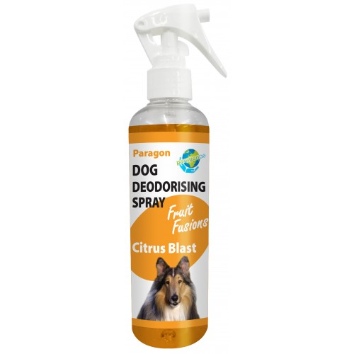 Paragon Fruit Fusions Dog Deodorising Spray Citrus Blast 250ml