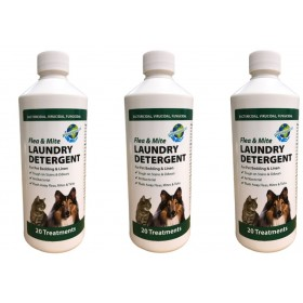 Paragon 3 x 500ml Flea & Mite Laundry Detergent