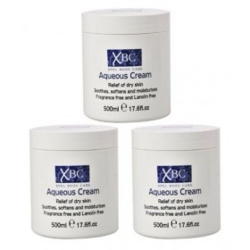 XBC Aqueous Cream 3 x 500ml