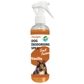 Paragon Fruit Fusions Dog Deodoriser Spray Vanilla 250ml