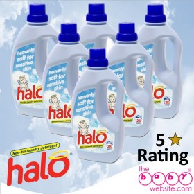 1ltr Halo Heavenly Soft 6 Pack